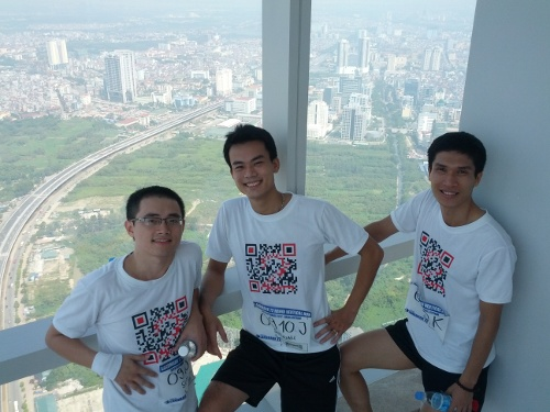 Hanoi vertical run 2012