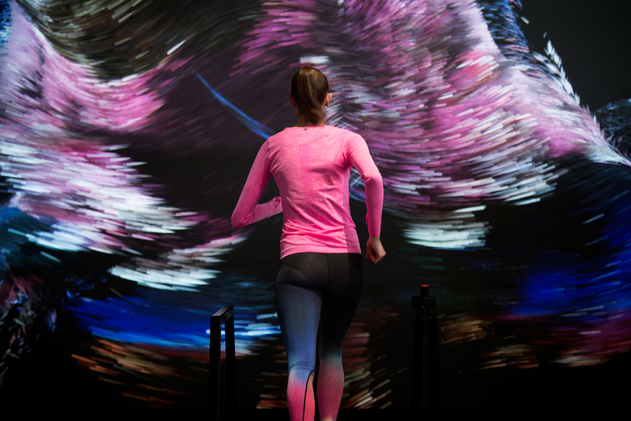 FIELD and Nike with running-interactive force of nature