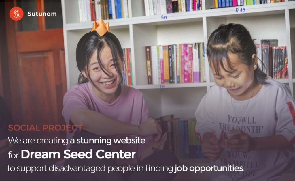 Community project aimed at building a website for Dream Seed Center