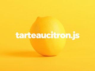 Open Source cookie management with TarteauCitron.js