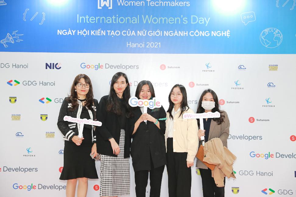 Sutunam Partner of Google IWD Hanoi 2021