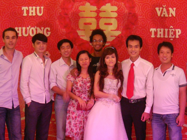 wedding Thiep and Huong